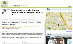 Local Search Profile